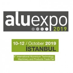 ALUEXPO, 10-12 October 2019, Istanbul - Turkey